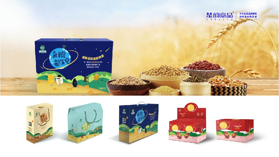 品牌建设与升级 | 启铺食品包装设计
